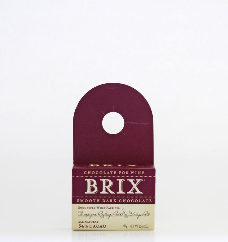 Brix 3oz Bar – Smooth Dark  SUGGESTED WINE PARINGS: Champagne, Riesling, new…