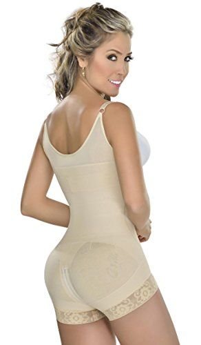 MYD 0048 Fajas Colombianas Reductoras Postparto Butt Lifter Body Shaper Beige XL >>> Click image to review more details.