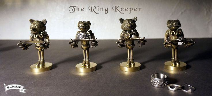The Ring Keeper #ring #arttoy #figure #keeper #keep #store #craft #storage #jewelry #ornament #support