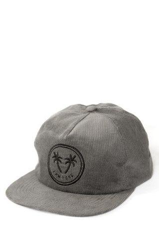 I Am None - Palm Logo Hat - Grey