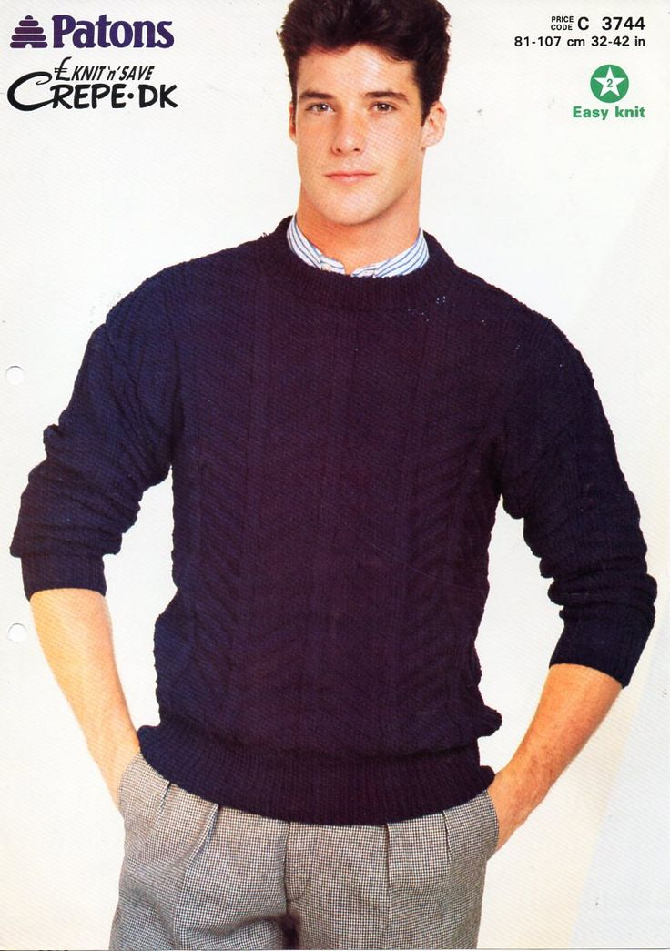 287 best images about Vintage Mens knitting patterns / Mens Knit Patterns on ...