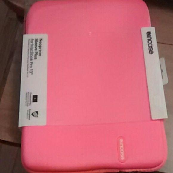 Neoprene Sleeve Plus for MacBook Pro 13 New Electric Orange MacBook Pro 13 Sleeve INCASE Accessories Laptop Cases