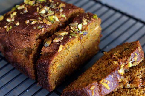 Gluten-free Pumpkin Pistachio Bread
