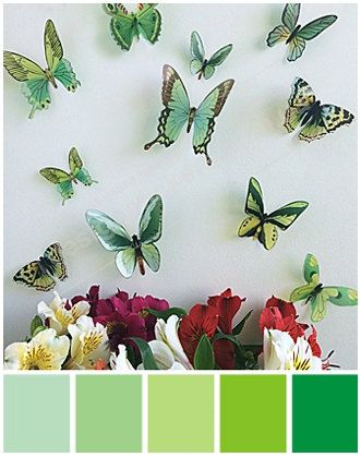 Best Etsy Ideas Images On Pinterest Painted Tiles Paper - Wall decals butterfliespatterned butterfly wall decal vinyl butterfly wall decor