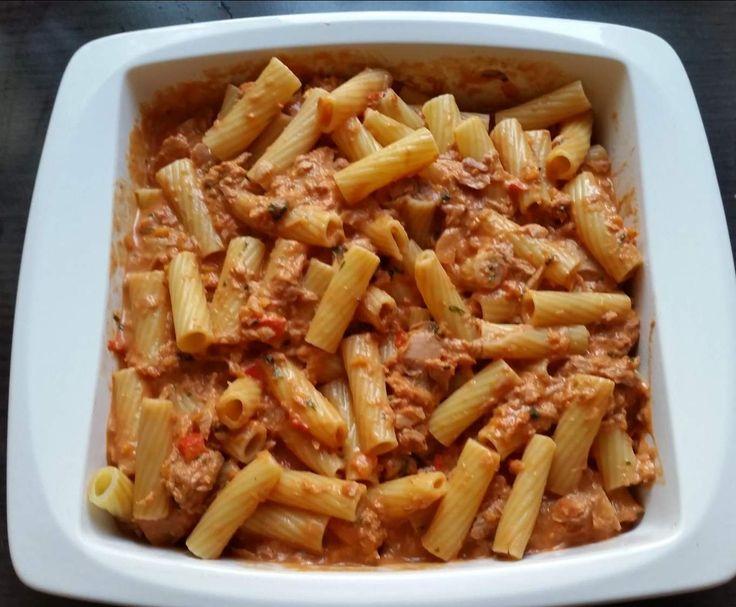 Rezept Nudel-Tunfisch-Auflauf von wolkenblume - Rezept der Kategorie Hauptgerichte mit Fisch & Meeresfrüchten