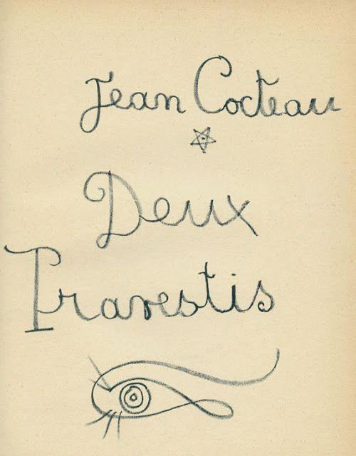 ** Jean Cocteau **