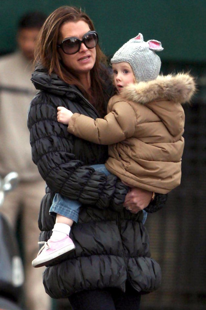 Brooke Shields and Rowan Francis Henchy - Brooke Shields And Her Daughter Out And About In NY