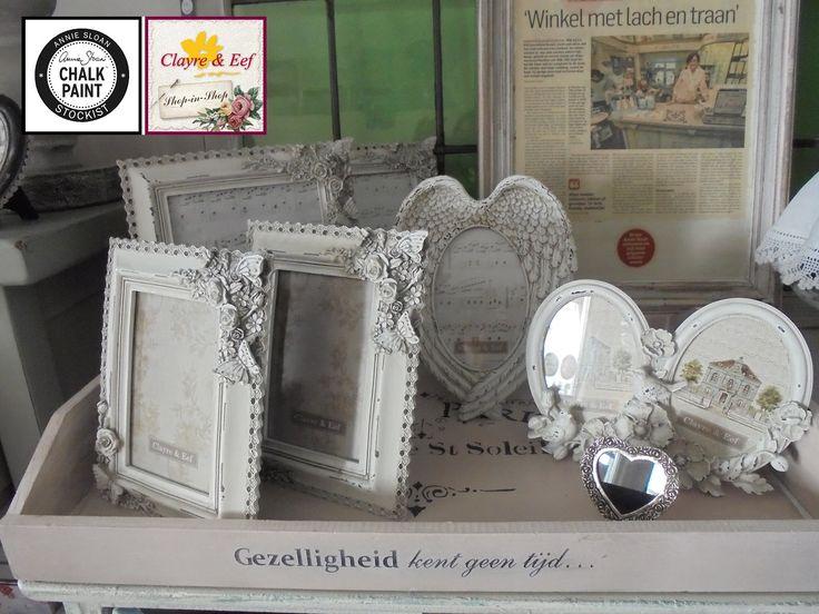 Ooooh, de Clayre & Eef brocante fotolijstjes... Zó mooi! En de prijsjes zijn net zo leuk, kom maar shoppen bij La PéCule <3 INFO: info@lapecule.nl #clayreeneef