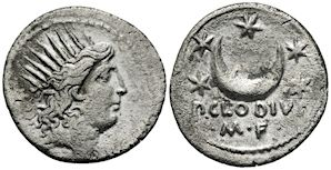 Roman Republic, P. Clodius M.f. Turrinus. In October 42 B.C., the Republican army was defeated by the legions Antony and Octavian at Philippi. Cassius and Brutus committed suicide. Brutus' body was brought to Antonius' camp, where he cast his purple paludamentum over his dead body and ordered an honorable funeral for his erstwhile comrade. The Republican cause was crushed; Rome rested in the hands of the Second Triumvirate.