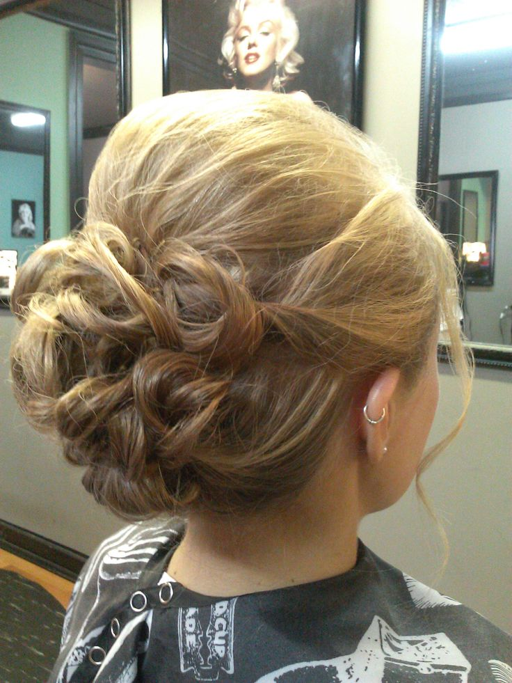 beautiful formal style wedding prom hair updo hair color for blondes *All About You* Hair by Brandy Bilbrey 615-792-8817