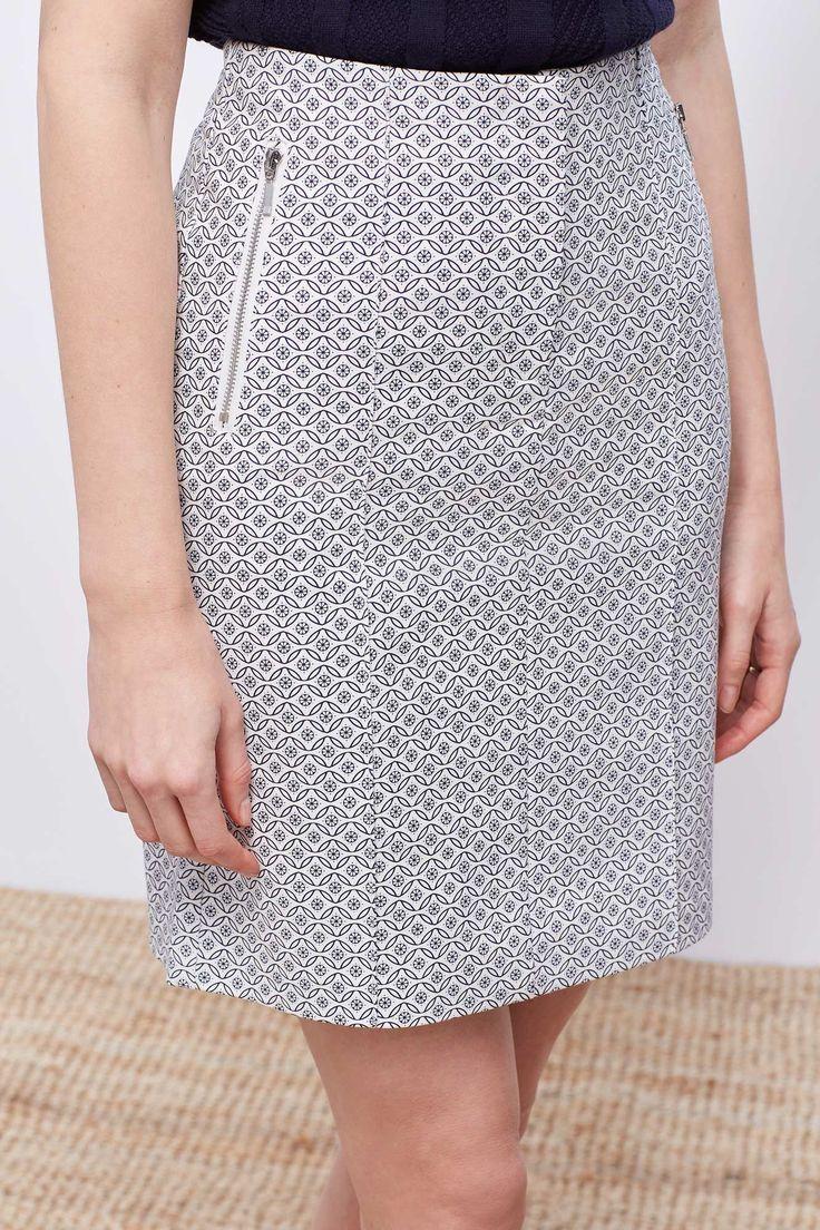 Falda cremalleras | Faldas | Cortefiel