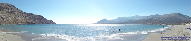 Plakias beach, South Rethymno