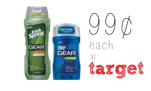 Irish Spring Coupon | Get Body Wash for 99¢ at Target!