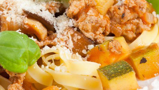 Tagliatelle z sosem włoskim - kopalnia smaku i składników odżywczych w pysznym wydaniu #healthyfood #food #healthycooking #healthy #econdimenta