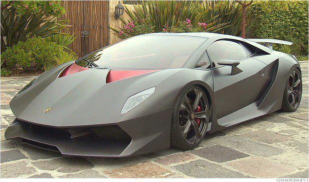 Lamborghini's Sesto Elemento - LGMSports.com