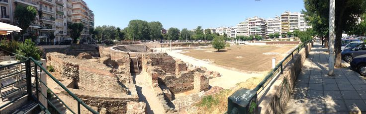Ancient Market downtown @ Thessaloniki