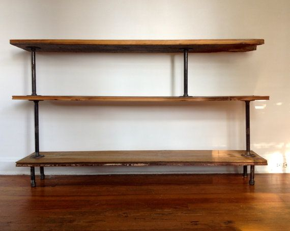 Reclaimed Wood And Metal Wall Shelves: Pinterest • The World's Catalog Of Ideas