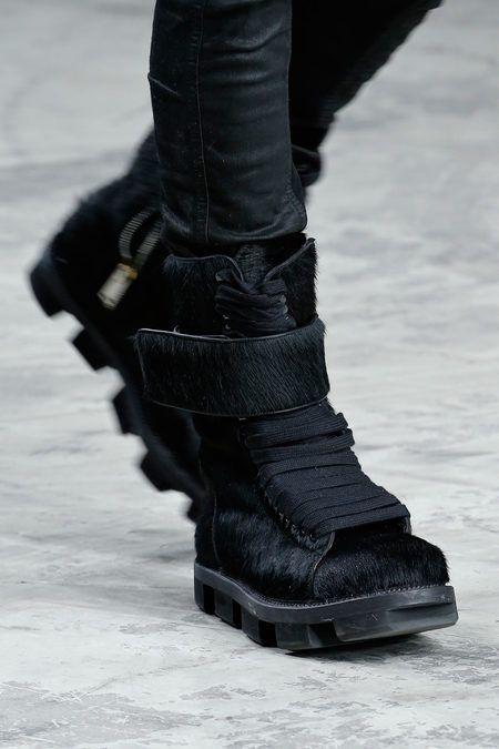 Leather SCUBA SOCK Boots Spring/summerRick Owens E4kRAn
