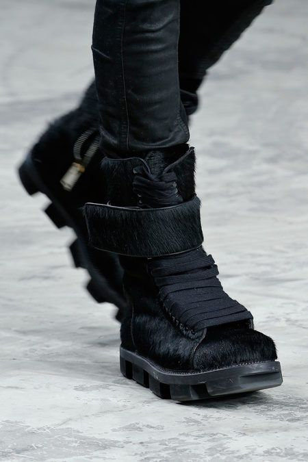 RICK OWENS, AW13 BOOTS: so. awesome. i love the crazy soles.