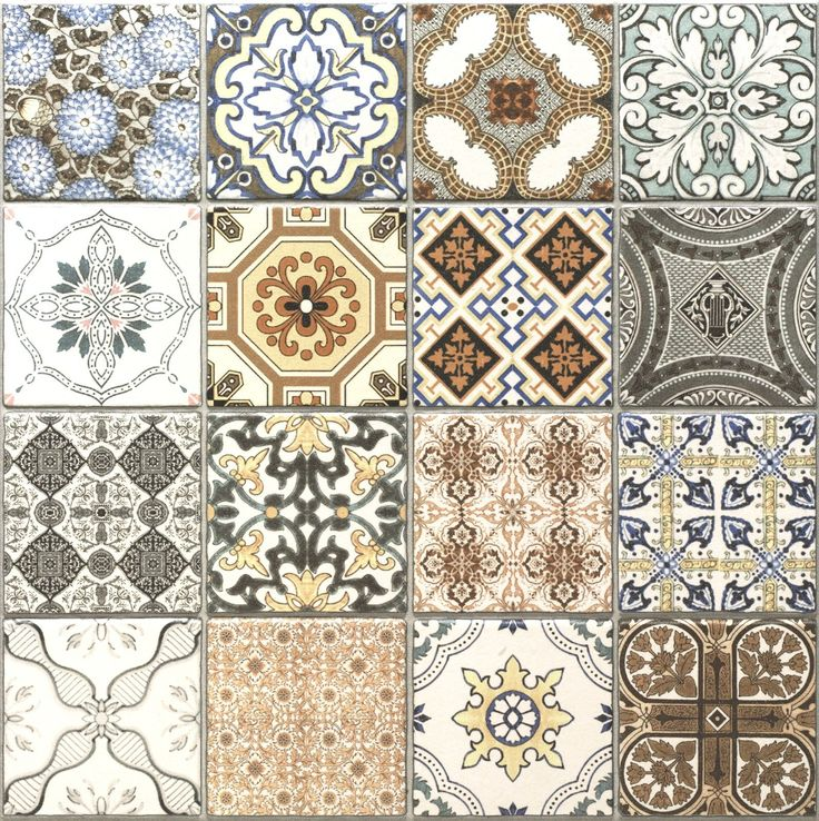 Realonda Provenza Pattern Multi design Wall Floor Tiles Patchwork effect in Home, Furniture & DIY, DIY Materials, Flooring & Tiles | eBay