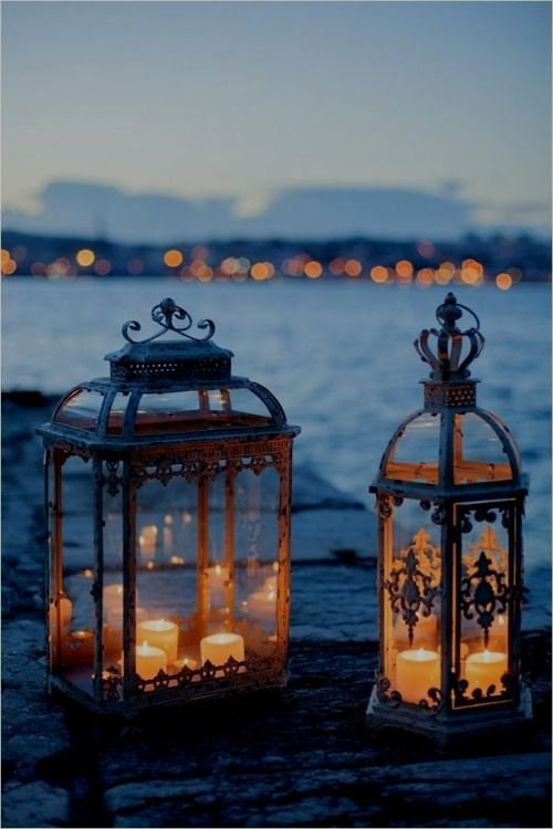 By The Sea, You Can See With These Gorgeous Lanterns.............