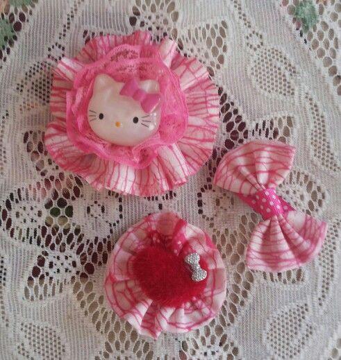 fabric brooch pinky diy