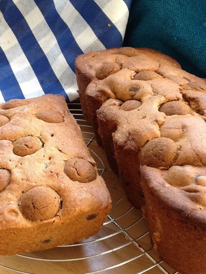 Speculaascake met chocolade en kruidnootjes
