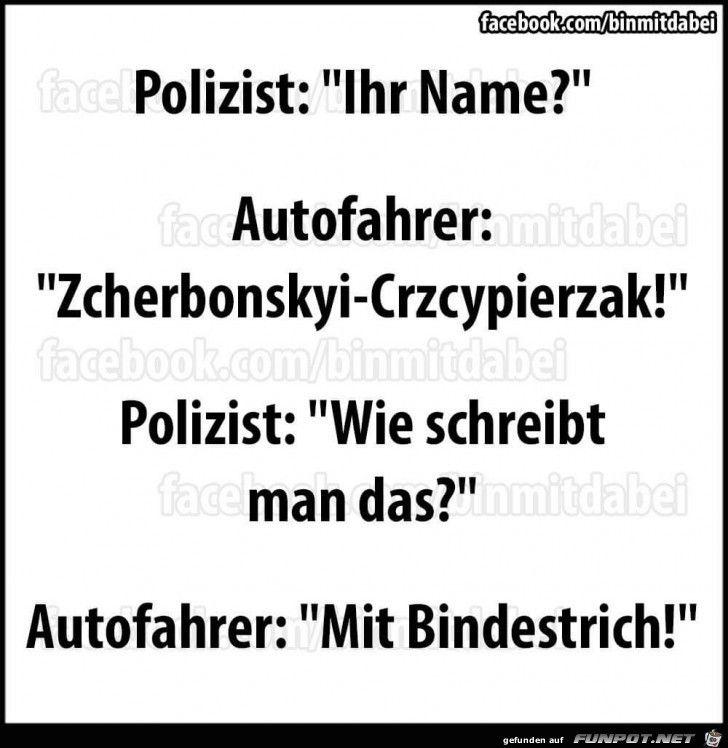 Polizei Lustig Witzig Bild Bilder Spruch Spruche Kram Name Witzige Spruche Feuerwehr Spruch Lustig