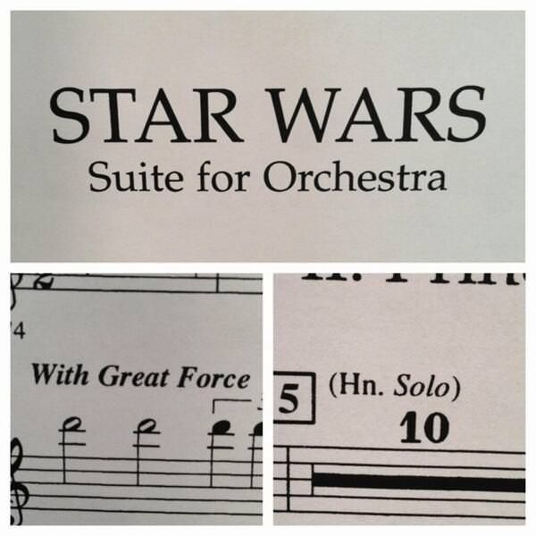 This sheet music for Star WarsHildernauth - http://asianpin.com/this-sheet-music-for-star-warshildernauth/