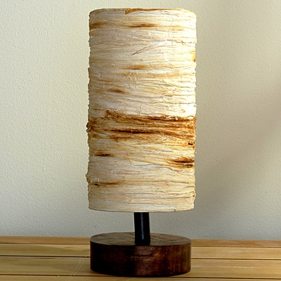 Thin Rope Table Lamp