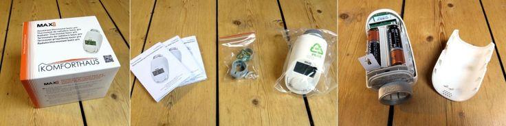 MAX Heizkörperthermostat - Inhalt der Verpackung