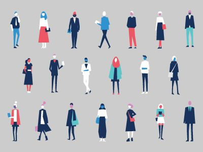 Dribbble - Fancy Ass People by Remo Bang