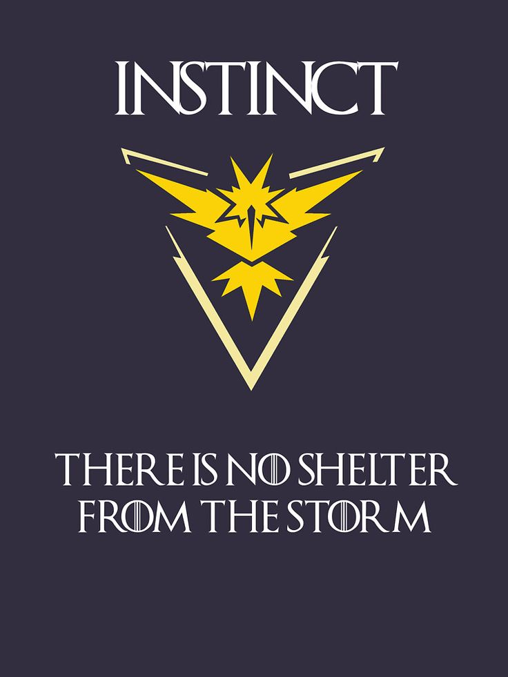 Team Instinct Pokemon Go - Game of thrones style | Unisex T-Shirt