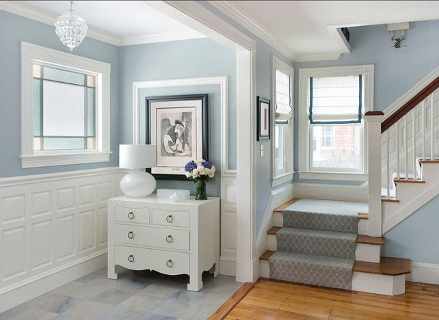 Benjamin Moore Hc 165 Boothbay Gray Paint Colors Interior