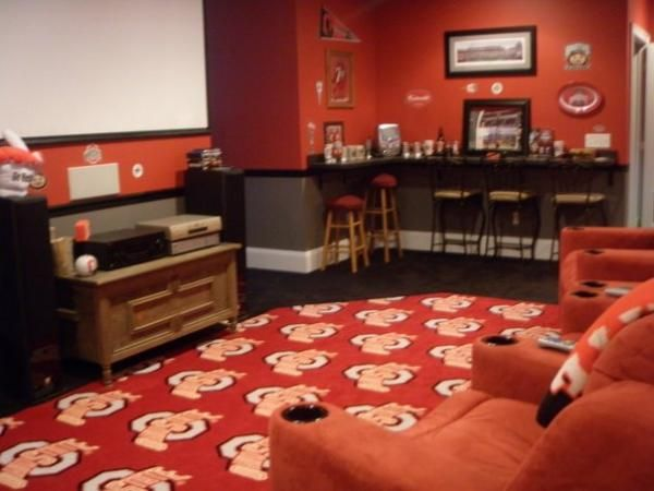 Ohio State Themed Room Google Search Pinterest Rooms And Buckeyes