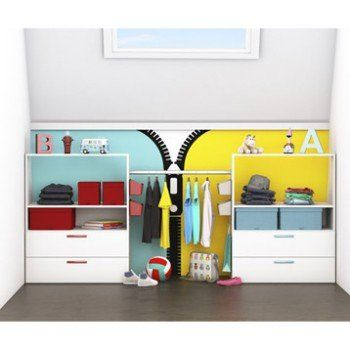 Dressing Spaceo Home Blanc Leroy Merlin Deco Kids Pinterest