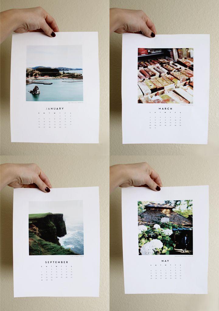 Observant Nomad | free printable 2014 Calendar