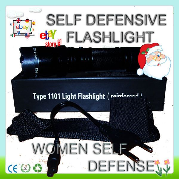 SALE Flashlight with Newest Model 1101 + 2014 Self Defense