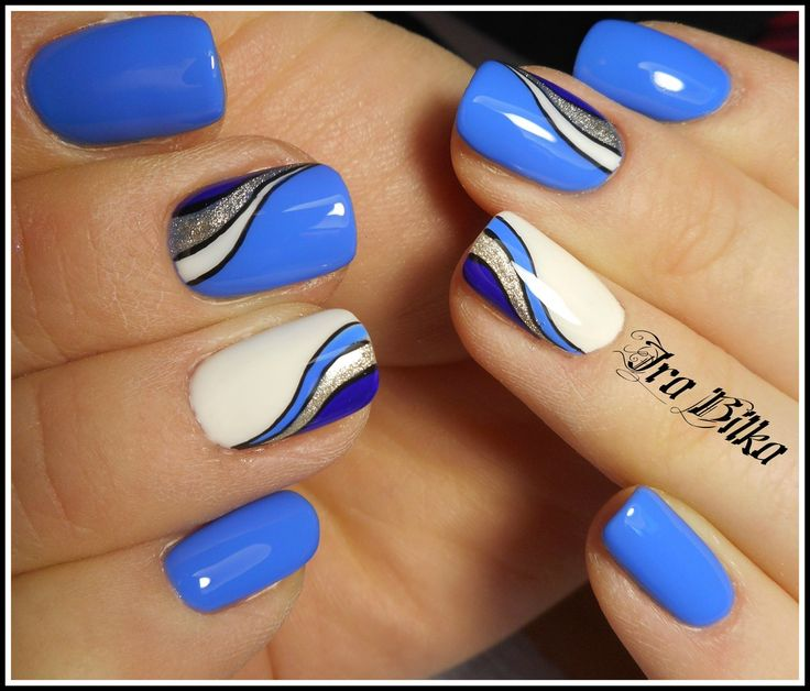 Маникюр №3537 - самые красивые фото дизайна ногтей. Идеи рисунков на ногтях на любой вкус. Будь самой привлекательной!