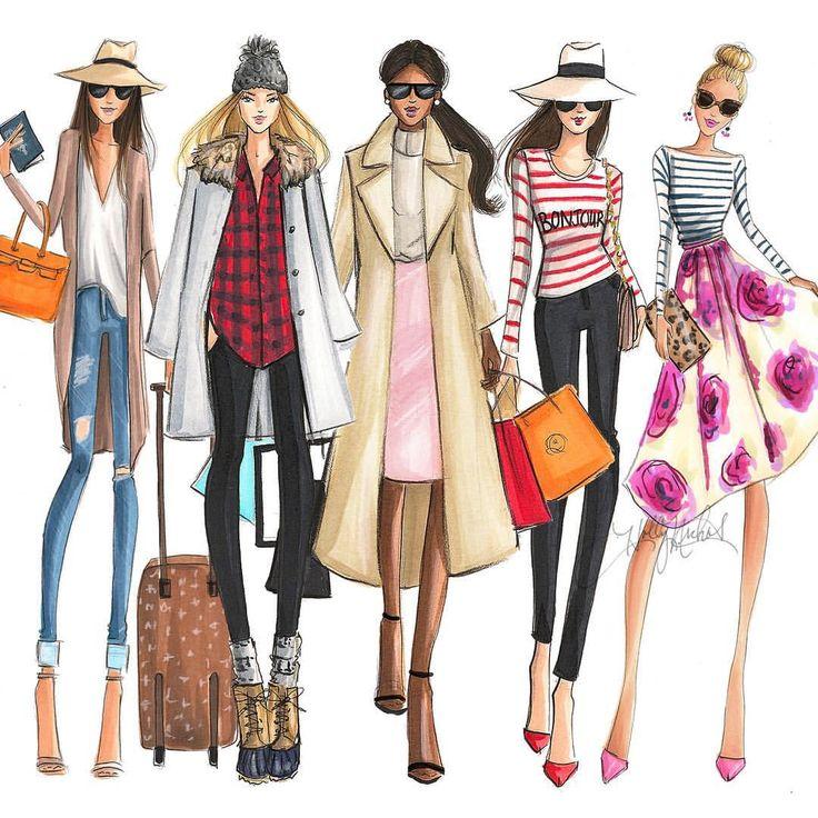 Картинки про моду и стиль нарисованные, картинки