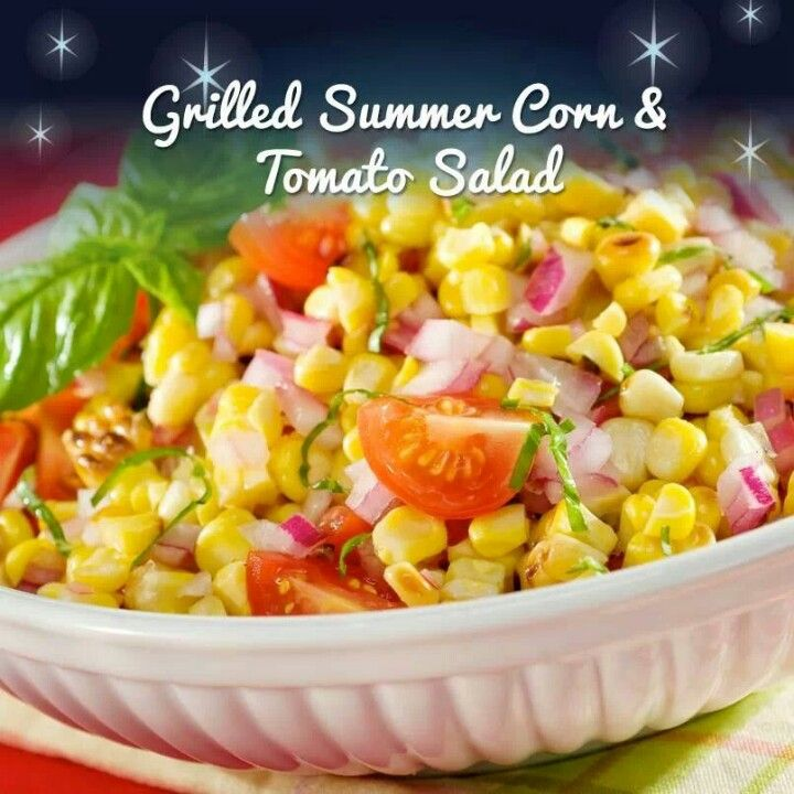 corn & tomato salad | Recipes to try | Pinterest | Corn Tomato Salad ...