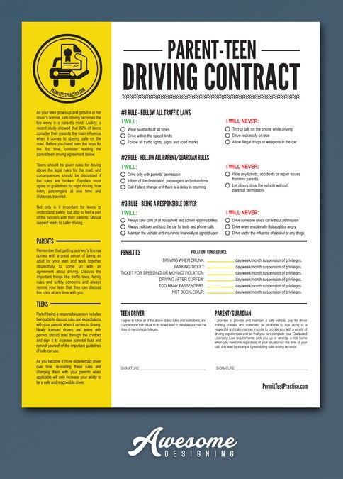 Create an editable PDF template design by Awesome Designing - advertising contract template