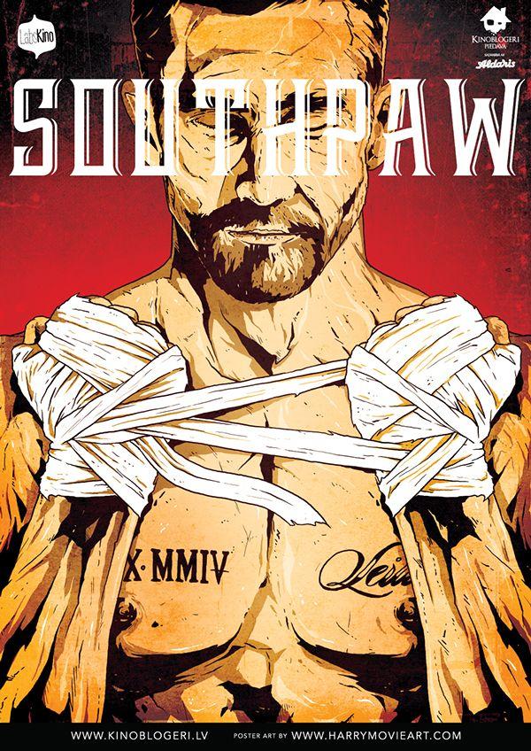 Southpaw - movie poster - Harijs Grundmanis