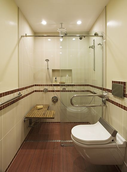 Best 25 disabled bathroom ideas on pinterest wheelchair accessible shower handicap bathroom - Handicapped accessible bathroom plans ...