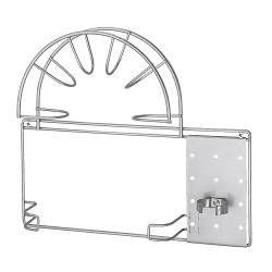 IKEA - VARIERA, Soporte para tubo de aspiradora, Puede montarse dentro de un armario para tener la aspiradora bien guardada y ordenada.