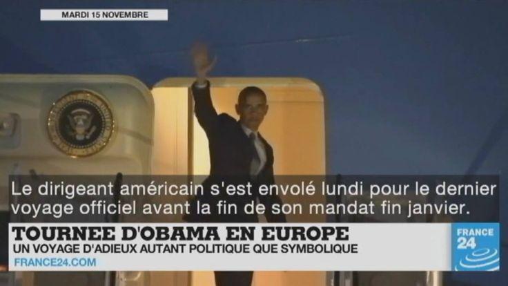 Tournée d'adieu d'#Obama en Europe, rapprochement #Trump - #Poutine, bataille de #Mossoul en #Irak, guerre en #Syrie... Le point sur l'actualité en VIDÉO
