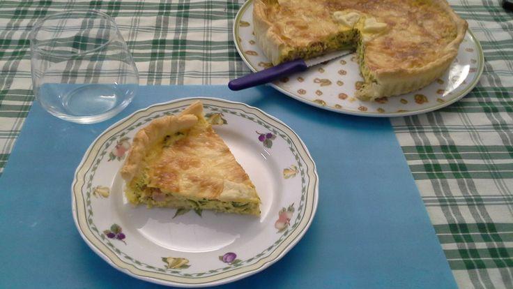 #Torta #Salata con #Pancetta #Funghi e #Zucchine. Sei #vegetariano? Nessun problema... gli #ingredienti li scegli tu!  La #Ricetta nel blog:  http://bit.ly/1lOpcJ2