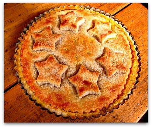 shaker lemon pie tart