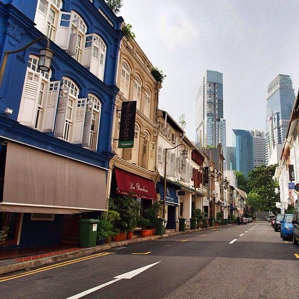 Ann Siang Hill in Singapore