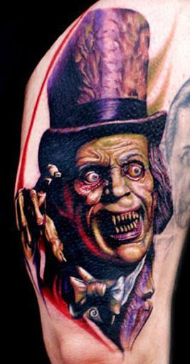 Realism Horror Tattoo by Cecil Porter